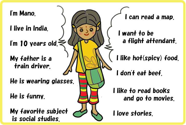 Children Material Self Introduction